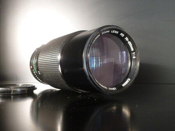 Zoom Canon FD macro