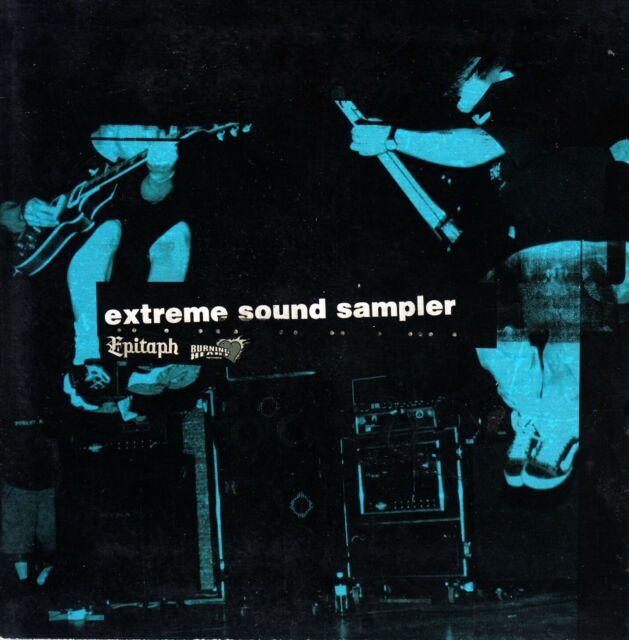 "CD Promo ""Extreme Sound Sampler"" (Epitaph + Burning Heart"