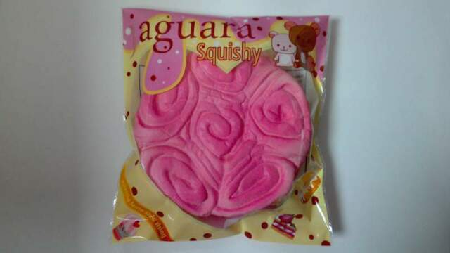 Squishy torta delle rose jaguarà slow rising