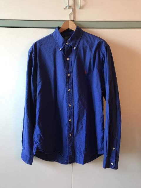 Camicia Ralph Lauren Tg L Custom Fit