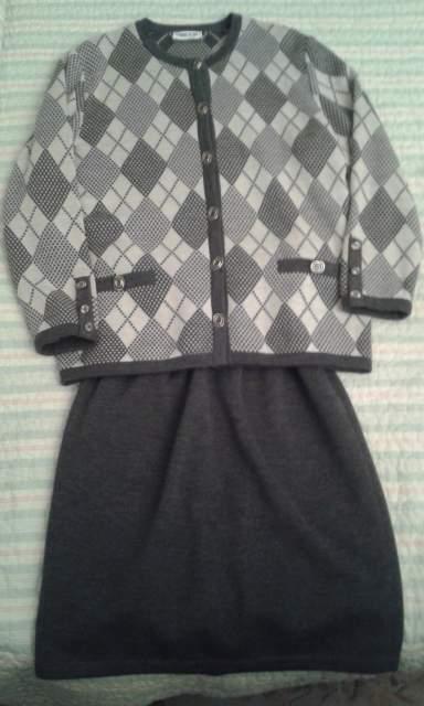 Completo lana grigio