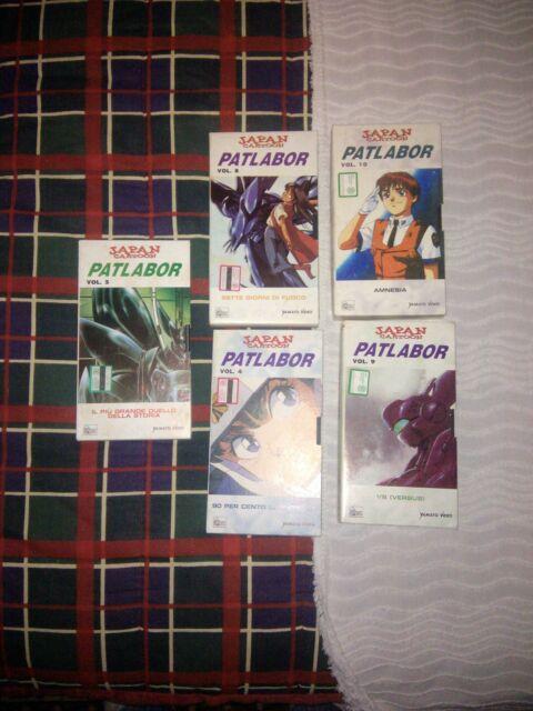 Patlabor, Serie completa VHS