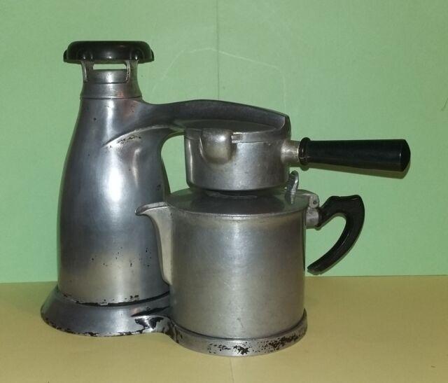 VESUVIANA Caffettiera / Macchina da caffè in alluminio