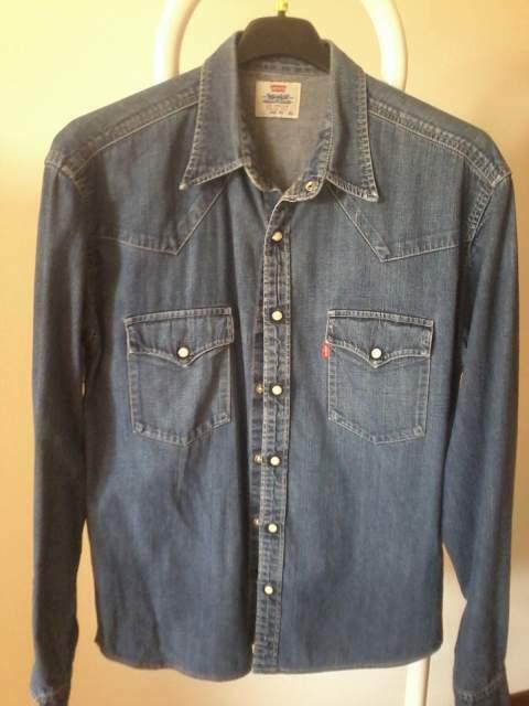 Camicia jeans Levis taglia xl
