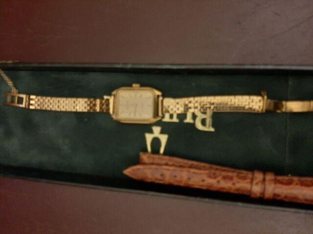 Orologio Bulova con cinturino in oro