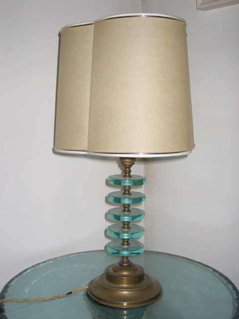 Design  Coppia di lampade l'una.