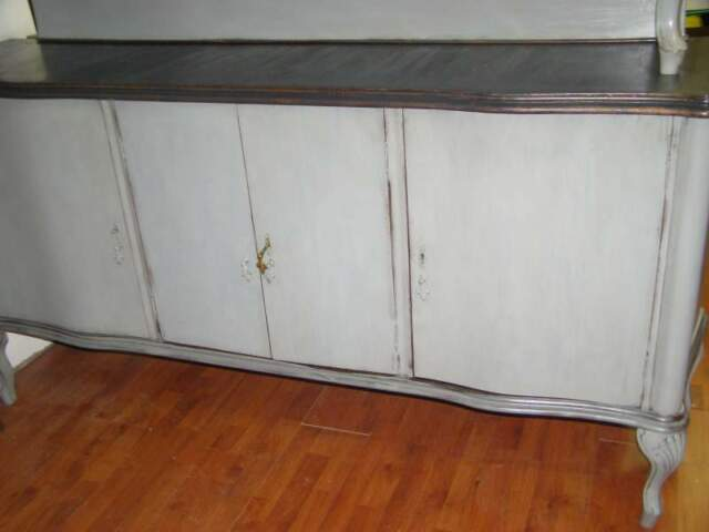 Mobile Credenza Chippendale shabby chic