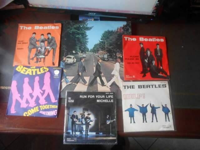 Beatles LP Abbey Road e 45 giri