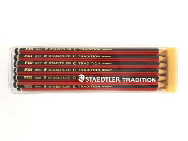 Confezione 12 Matite Staedtler Tradition 2H Vintage