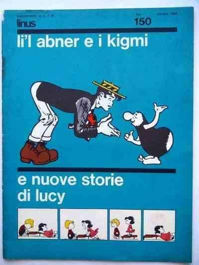 Fumetto LI'L ABNER E I KIGMIsuppl. al nr. , lire 150