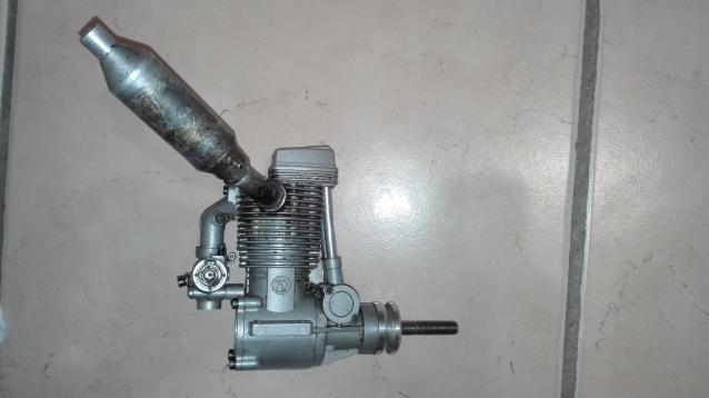 motore glow 4 tempi SC70 FS