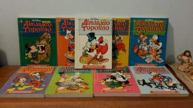 Almanacco topolino nuova serie dal 1 al 9