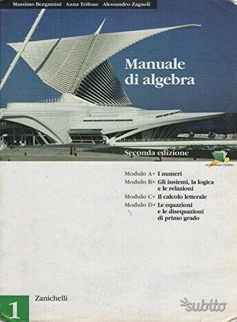 Manuale di algebra volume 1