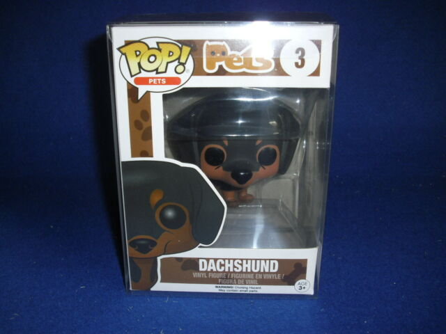 Funko POP! Pets DACHSHUND Bassotto marrone e nero