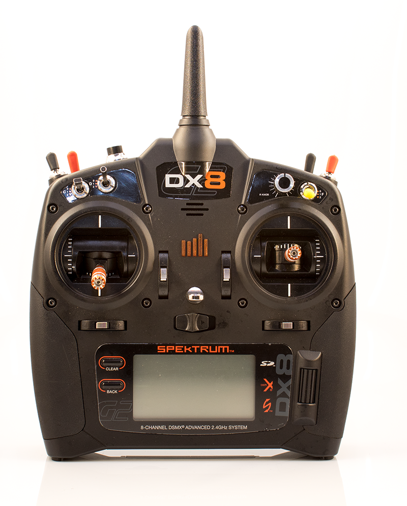 Radio spektrum DX8 G2