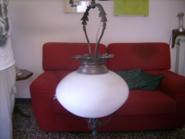 2 lampadari in ferro battuto