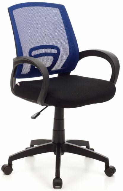 Sedia Da Ufficio Operativa In Tessuto My Office Room Blu