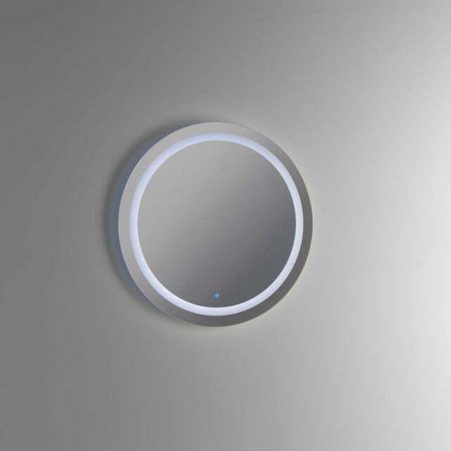 Specchio Con Lampada A Led In Ø.60x2,5xØ.60cm Tft Sole