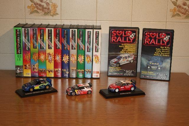 VHS E MODELLINI RALLY