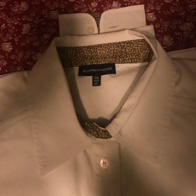 Vendo camicia bianca Borbonese in ottime condizioni tg. 50