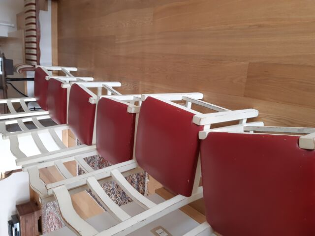N 10 sedie in rovere