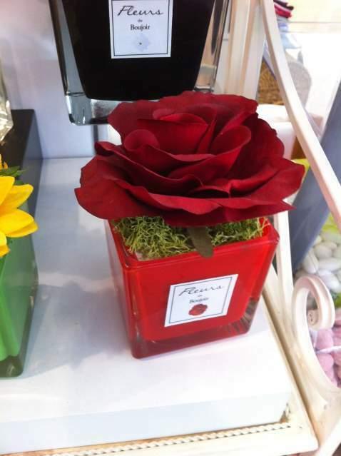 Profumatore ambiente vaso con fiore