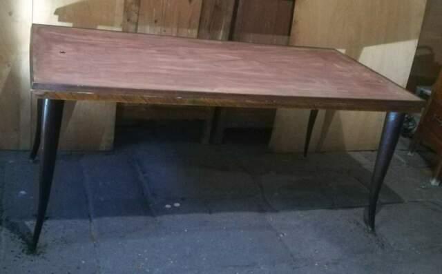 Tavolo in legno anni 60