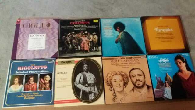 N. 62 LP di musica lirica