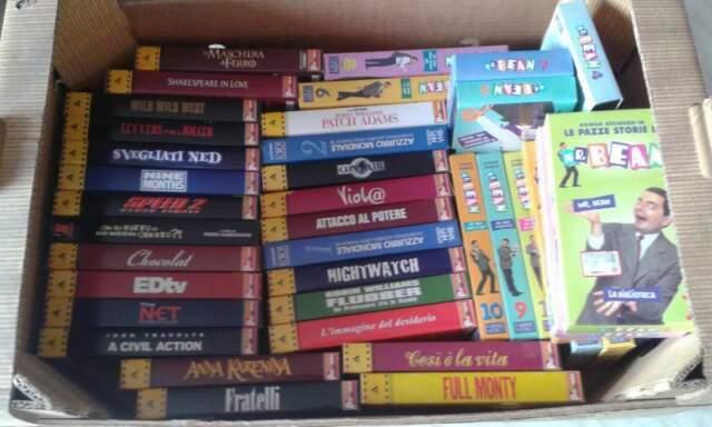 Videocassette VHS Varie Film
