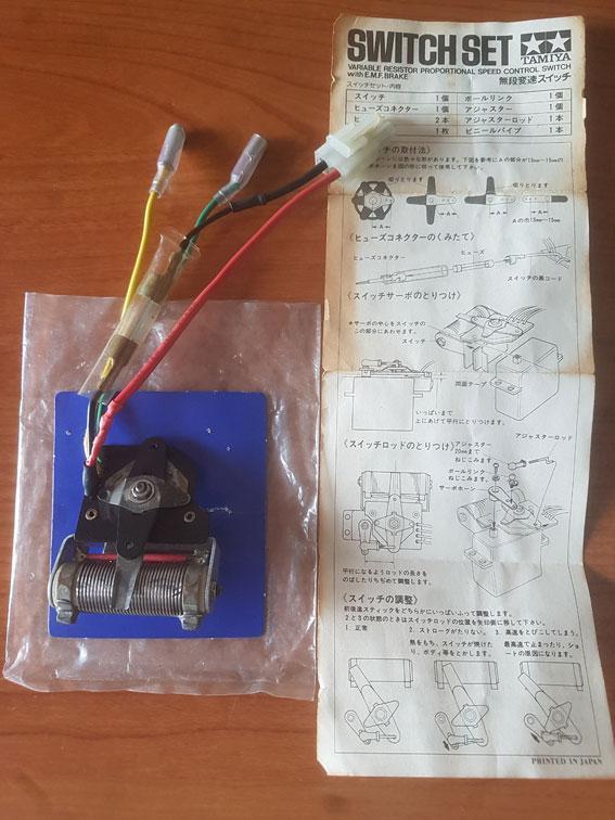 Tamiya R/C vintage regolatore meccanico Mechanical Speed