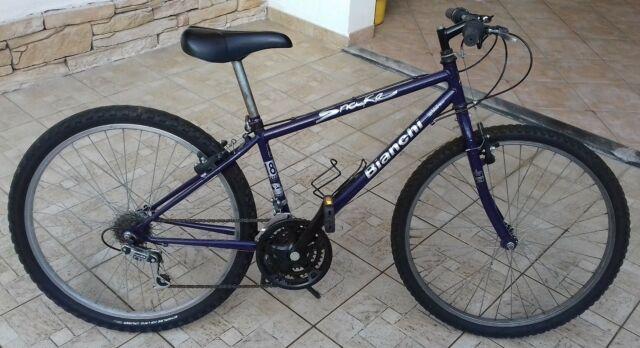 Bicicletta Mountain Bike Bianchi Snake Blu 26pollici adulto