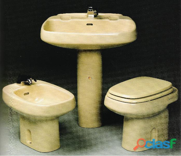Sanitari serie Square bidet e wc