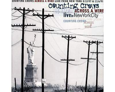 """Cd dei """" counting crows"""" dal titolo """"across a wire live in"""