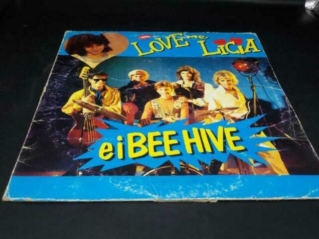 Disco 33 giri love me licia e i bee hive