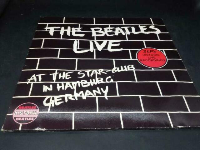Disco 33 giri the beatles live at the star club in hamburg