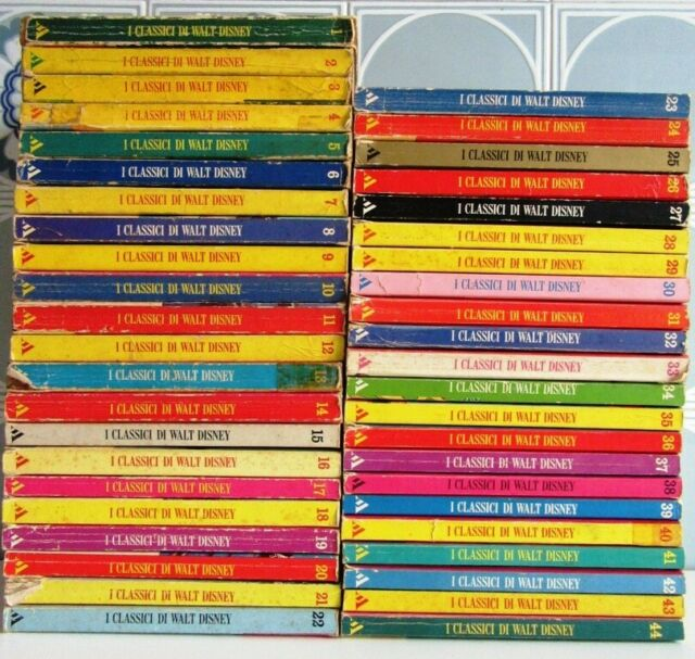 I Classici di Walt Disney dal n.1 al n.44 - SPEDIZIONE