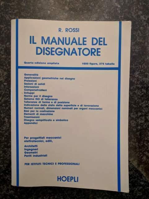 Il manuale del disegnatore di Roberto Rossi