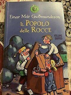 Libro per bambini il popolo delle rocce