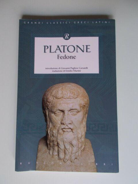 PLATONE Fedone -Rusconi Libri- Grandi classici greci latini