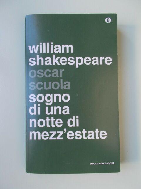 William SHAKESPEARE Sogno di una notte di mezza estate NUOVO