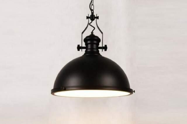 Lampada vintage a sospensione in stile industriale Eligio