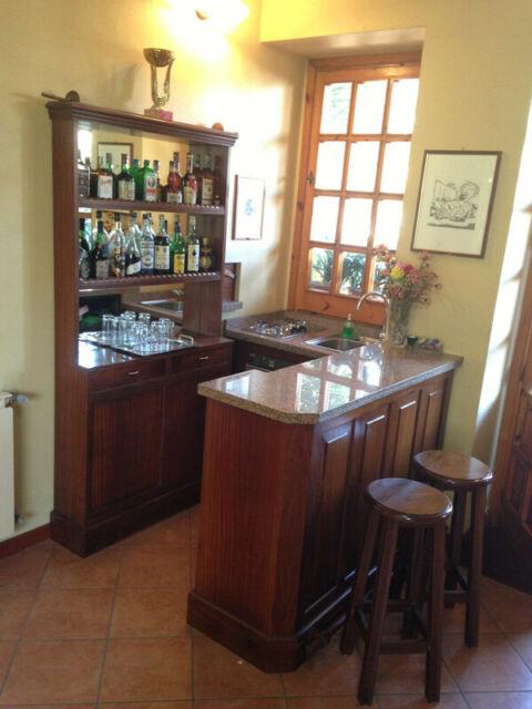 Mobile bar con lavabo piano cottura falegnameria