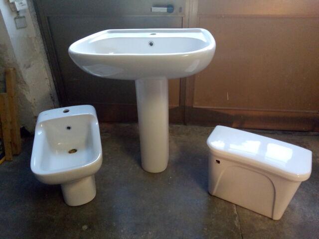 Sanitari lavandino vaschetta bidet in ceramica IDEAL