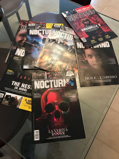 Collezione della rivista di cinema Nocturno