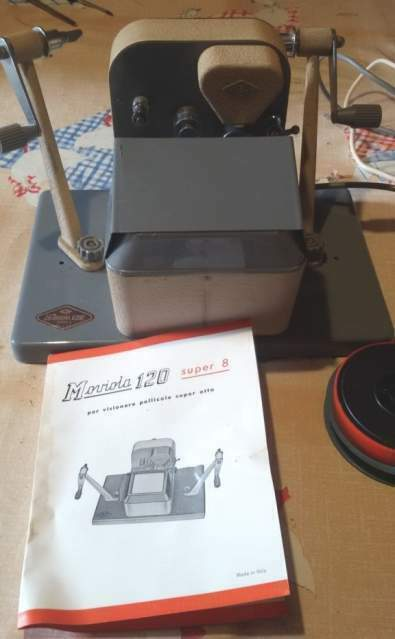 Moviola (per film super 8) + Stereoscopio francese