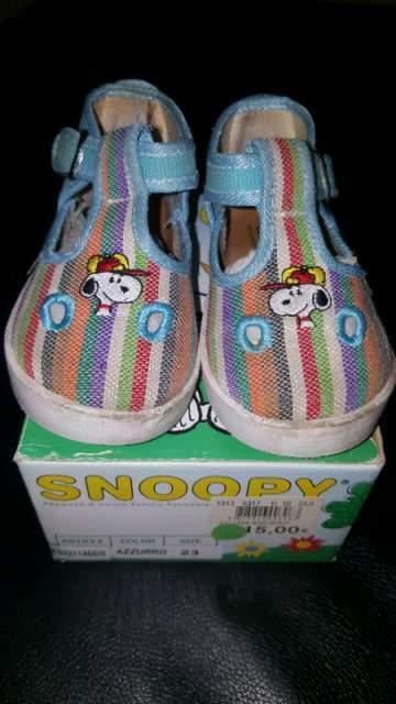 Scarpe sandali Snoopy numero23