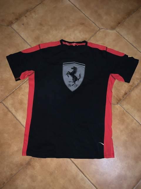 T Shirt Maglia Scuderia Ferrari COME NUOVA