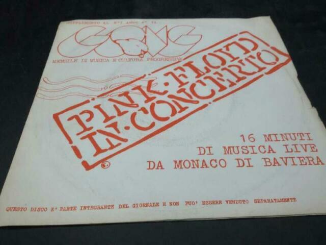 Disco 33 giri pink floyd in concerto  disco promo