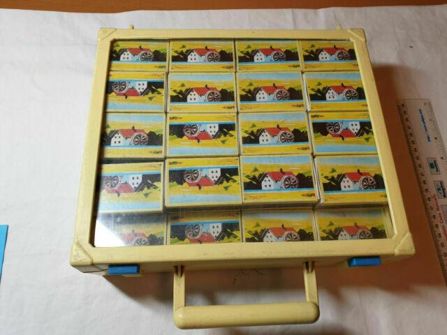 Mulino bianco 56 sorpresine valigetta originale vintage
