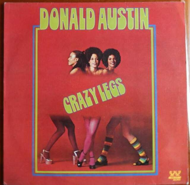 Donald Austin Crazy Legs Originale e RARO NM